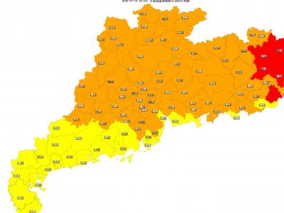 热到与太阳并肩!梅州多地气温破历史高温极值