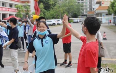 梅州V视丨梅州中考进行时 视频直击开考首日