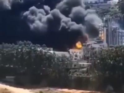 福建龙岩一新能源公司发生火灾,已有多人受伤