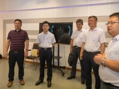 广州造纸集团有限公司领导到梅州日报社开展交流活动