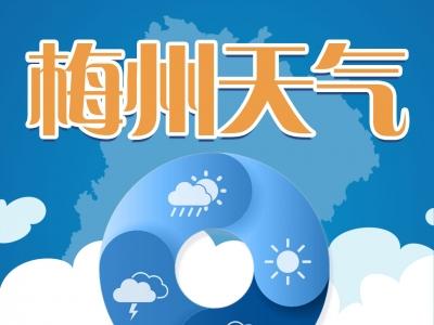 """注意防御!台风""""米克拉""""上线,梅州今日或将迎来6级大风+暴雨"""