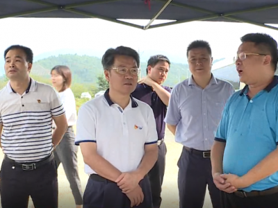 朱少辉调研交通公路项目及景田矿泉水五华生产基地建设推进情况