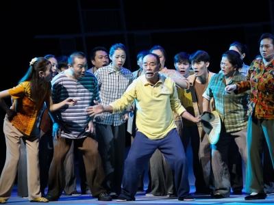 """""""白鹭去,白鹭回..."""" 梅州大型客家山歌剧《白鹭村》以全新面貌重返舞台"""