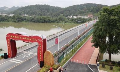 """通车!梅州政协连心桥获批到动工仅用3个月,彰显""""梅州速度""""!"""
