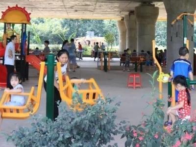 外滩公园部分区域开放!梅江区三龙村美丽乡村建设再发力