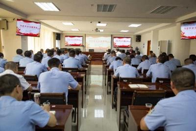 梅州监狱举行学习贯彻《习近平谈治国理政》第三卷专题辅导报告会,罗金良作专题辅导