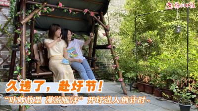 """梅州V视丨久违了,赴圩节!""""叶帅故里 漫游雁洋""""开圩进入倒计时~"""