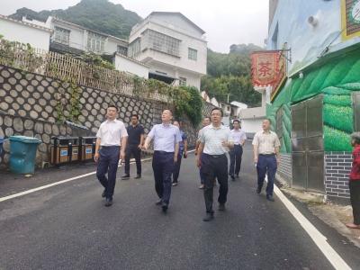 冯彤率队来梅调研第三届广东茶叶产业大会筹备工作