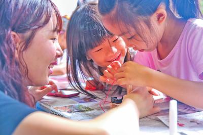 让孩子爱上阅读的周末乐园!定位:梅县区南口镇益昌村