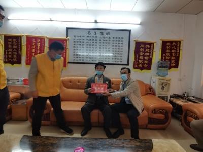 曾尚忠到梅江区走访慰问抗战老兵:推动全社会尊重英雄尊崇军人