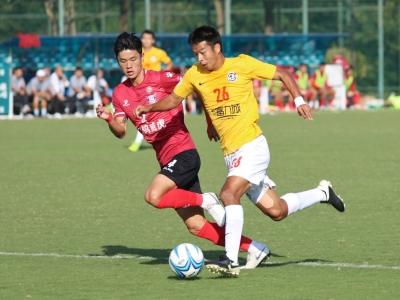 中冠小组赛最后一战 梅县竞技2球领先下连丢4球出局
