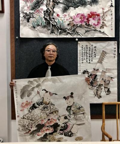 梅州第一届工艺美术大师古永青:好作品就是无声的推销员