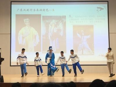 """""""南国牡丹""""绽放惠州校园,讲演结合传薪火"""