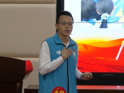 百姓小康故事丨蓝天宇:青春社工路,百姓在心中