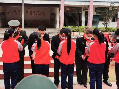 梅州军分区到大埔开展主题党日活动