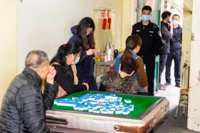 """167人落网!梅州警方端掉12处""""转转麻将""""赌博窝点,别再碰了"""