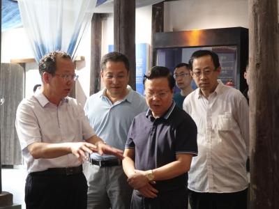 甘肃省兰州市人大常委会考察组来梅考察:加强交流合作 共推地方发展