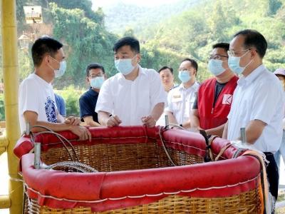 孙春明率队到大埔检查文旅行业疫情防控和安全生产工作