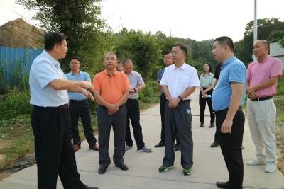 市第六督导组到大埔开展中央生态环境保护督察边督边改工作