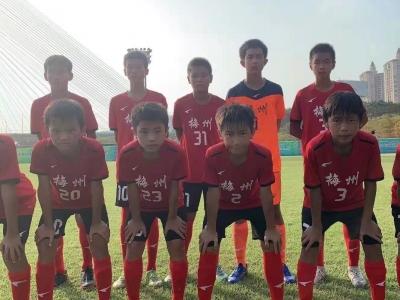 6:1大胜清远挺进决赛!明日,梅州队与深圳队争夺省青少年足球锦标赛男子丙组冠军